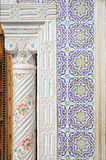 Arabic style ceramic wall decoration Royalty Free Stock Image