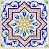 Arabic style ceramic wall decoration Stock Images