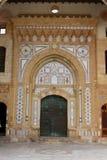 Arabic-style door Stock Image