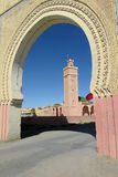 Arabic style gate in the city Stock Photos