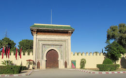 Arabic style gate Stock Photography