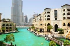Arabic style hotel in Dubai downtown Stock Image
