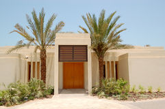 The Arabic style modern villa at luxury hotel Royalty Free Stock Photos