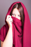 Arabic style portrait of a young beautiful woman Stock Photo