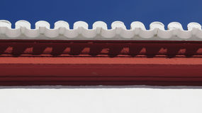 Arabic style roof Tiles Stock Photos