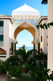 Arabic style Spain condominium Stock Photography
