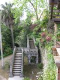 arabic-style-stairway-found-in-monserrate-gardens- Stock Photos