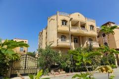 The arabic style villas. At modern City Stock Photo