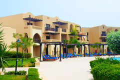 The arabic style villas in luxury hotel Royalty Free Stock Images