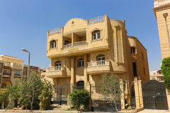 The arabic style villas Royalty Free Stock Images