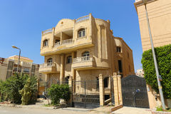 The arabic style villas. At modern City Stock Image