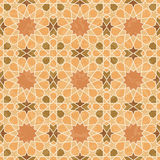 Arabic style vintage mosaic pattern Royalty Free Stock Photos