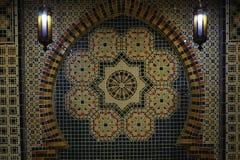Arabic style wall. Arabic design wall decoration Royalty Free Stock Photos