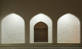 Arabic styled door Stock Images