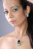 arabic sultry woman Στοκ φωτογραφία με δικαίωμα ελεύθερης χρήσης