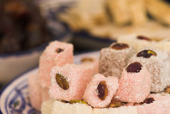 Arabic sweets. During Ramadan and special occasions Royalty Free Stock Photography