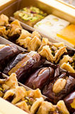 Arabic Sweets. As closeup in a box Stock Image