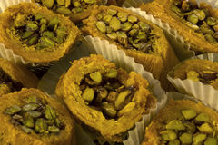 Arabic sweets. This is a photograph of Arabic sweets Royalty Free Stock Photos