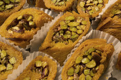 Arabic sweets. This is a photograph of Arabic sweets Royalty Free Stock Image