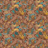 Arabic swirl pattern Royalty Free Stock Photography
