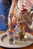 Arabic tea Royalty Free Stock Photo