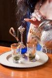 Arabic tea Stock Images