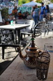 Arabic Tea Pot. An arabic style tea pot at albaicin  in granada, south spain Stock Images