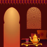 Arabic Tea Room royalty free stock images