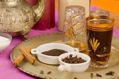 Arabic tea Stock Image