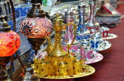 Arabic Teapots Royalty Free Stock Images