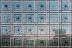 Arabic texture. Square glass with arabic symbols Royalty Free Stock Image