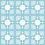 Arabic Tile Background Royalty Free Stock Photos