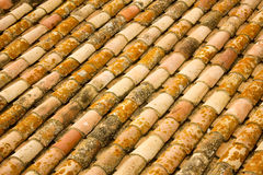 Arabic tiles. Texture in Mediterranean village Stock Photography