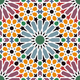 Arabic tiles Royalty Free Stock Images