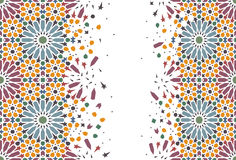 Arabic tiles Stock Photos