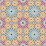 Arabic tiles Royalty Free Stock Image