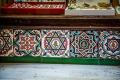 Arabic tiles Stock Photography