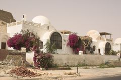 Arabic town. Arabic house in egypt turistical zone Royalty Free Stock Photography