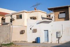 Arabic town street fragment, Saudi Arabia. Arabic town street fragment, Rahima, Saudi Arabia Stock Photography