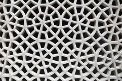 Arabic traditional Design. Arabesque pattern of a Window in The Pearl, Doha, Qatar Stock Photos