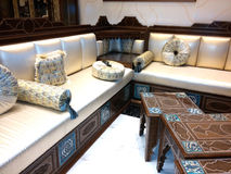 Arabic Traditional sofa Royalty Free Stock Photos