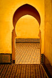 Arabic typical entry Royalty Free Stock Image