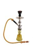 Arabic water-pipe. An beautiful arabic hookah in isolated background Royalty Free Stock Image