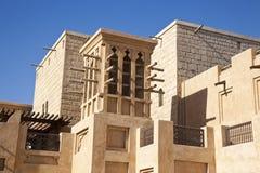 Arabic wind tower Stock Photo