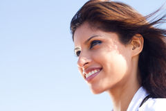 Arabic woman. Beautiful young arabic woman portrait Stock Image