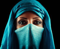 Arabic woman. Young Arabic woman. Stylish portrait Royalty Free Stock Photography