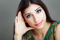 Arabic woman model Royalty Free Stock Image