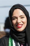 Arabic woman wearing hijab Stock Photo