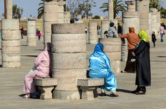 Arabic women taking a rest Royalty Free Stock Photo