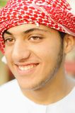 Arabic young man. Is smiling Stock Image